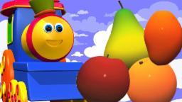 Bob o trem | trem frutas bob para crianças | música trem bob para crianças
