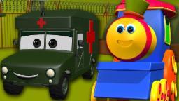 Bob o trem | Visita ao acampamento do exército | exército Aventura