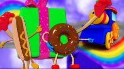 บ๊อบรถไฟช็อคโกแลตเลน | เด็กเพลง | 3D Kids Cartoon | Preschool Song | Bob Train Chocolate Lane