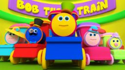 บ๊อบรถไฟ | นิ้วครอบครัวเพลง | เด็กบ๊อง | นิ้วเพลง | 3d Rhymes For Kids | Bob Train Finger Family