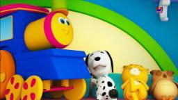บ๊อบรถไฟ | สิบในเตียง | เด็กบ๊อง |  Ten In The Bed | Nursery Rhymes | Kids Rhyme | Bob The Train