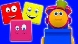 บ๊อบรถไฟขี่สีการ | การ์ตูนสำหรับเด็ก | วิดีโอการศึกษา | การคอมไพล์ | Bob Train Color Ride