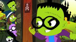 Trick or Treat | Aterrador de la poesía infantil | canción de Halloween | Truco o trato | Baby Song
