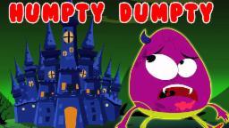 Humpty Dumpty Sat en una pared | Cartoon para los niños | compilación | Populares la poesía infantil