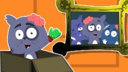 Drei kleine Kätzchen | Furchtsamer Cartoon für Kinder | Kindervers