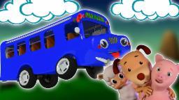 Räder auf dem Bus | 3D-Kompilierung für Kinder | Beliebte Kinderreim | Wheels on the Bus