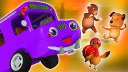 roues du bus | comptine populaire | vidéo éducative | compilation | Wheels On The Bus