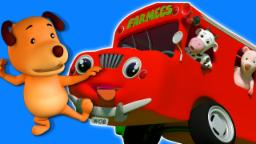roues du bus | nursery rhyme | enfants chanson compilation | Wheels On The Bus Nursery Rhyme