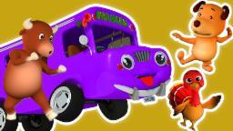 roues du bus | enfants rime | enfants video | Wheels On The Bus Kids Song