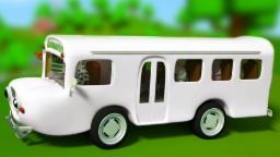 Ruote del bus | compilazione 3D per i bambini | rima vivaio | Wheels on the Bus | 3D compilation