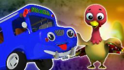 Ruote del bus   Fumetto 3D per i bambini   nursery rhyme Popolare  Wheels on the Bus