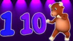 numeri di song 1-10 | i bambini imparano i numeri | i numeri di conteggio | Number Song 1-10 | Rhyme