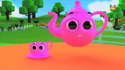 Sono un po 'Teapot | Cartoon per i bambini | rima popolare vivaio