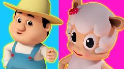 Chubby bochechas Covinha queixo | Compilação 3D para crianças | Popular berçário da rima