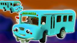Колеса на автобусе | потешки сборник | стишок для детей | Wheels On The Bus | Baby Learning Video