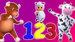 Номер песнь 1-30 | 3D мультфильм для детей | Учебное видео | Number Song 1-30