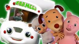 Колеса на автобусе | автобус рифмы | дети песни | стишок для детей | Wheels On The Bus | Baby Song