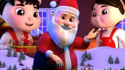ระฆังกริ๊ง | คริสต์มาสเพลงคอลเลกชัน | Xmas Carols For Kids | Baby Rhymes | Jingle Bells Song
