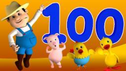 'บ๊อบที่รถไฟ' เพลงหมายเลข | ซ่งที่เด็ก | วิดีโอการศึกษา | Learn 1 to 100 | Bob Train Number Song