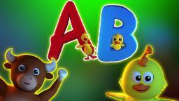 เพลง ABC | 3D การรวบรวม | วิดีโอการศึกษา | เด็กสัมผัสที่เป็นที่นิยม