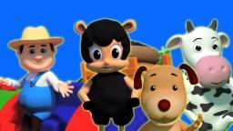 Baa Baa Black Sheep Rhyme | Baa Baa สัมผัสแกะดำ | เพลงกล่อมเด็กในไทย