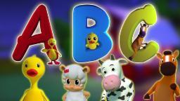 Alphabet Song | Learn ABC Letters in Thai | เพลง ABC สำหรับเด็ก | เพลงตัวอักษร