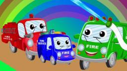 Carro de bombeiros Dedo Família | Rimas de berçário | Nursery Rhymes | Fire Truck Finger Family