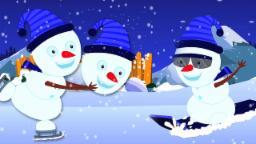 Bonecos de neve dedo Família | Rima de berçário | Snowmen Finger Family | Finger Family Song