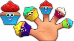 Muffins dedo família | berçário Rimas | infantis canções | Poem For Childers | Muffins Finger Family