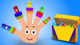 Crayons Finger Família | Verso infantil | Nursery Rhyme For kids | Crayons Finger Family