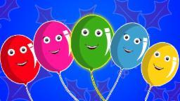 Balloons Finger Family | Desenhos animados para crianças | compilação | Popular rima de berçário