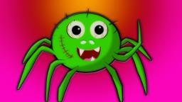 Araña incy wincy | Canción de niños asustadiza | Rima de bebé | Scary Kids Rhyme | Incy Wincy Spider