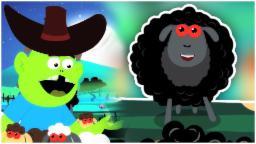 Baa Baa ovejas Negro | las rimas infantiles | Español