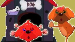 Cinco filhotes de cachorro pequeno que salta na cama | Compilação assustador | berçário da rima