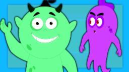Impertinente Fantasma | Vídeo assustador | Desenhos animados para crianças | Compilação