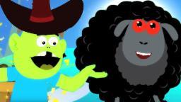 Baa baa ovelhas negras | crianças Rimas Infantis | português