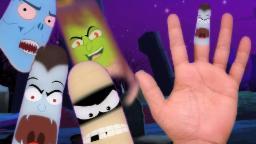 Crianças Rhymes e Canções para| dedo família| finger family