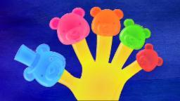 jalea lleva dedo familia | niños compilación de | canción del bebé | Jelly Bear Finger Family
