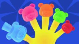 jaleas | dedo de la compilación de la familia | niños y bebés rima | Jelly Bears Finger Family
