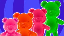 Dedo de la familia | compilación para los niños | rima popular de guardería | Bears Finger Family