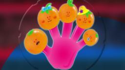 alaranjada dedo Família | rimas infantis para crianças | Nursery Rhymes | Orange Finger Family