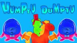 Humpty Dumpty sentado em uma parede | geléia ursos Canções | Rimas para crianças | Baby Rhymes