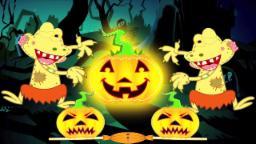 jaque o lanterna | berçário Rimas | assustador Canção para as crianças | Jack O'Lantern | Kids Song