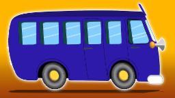 Rodas no ônibus | Canção para crianças | Popular berçário rima | Rodas Canção |The Wheels On The Bus