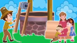 Jack and Jill | crianças rima | bebê música | vídeo para as crianças | Nursery rhyme | Kids Rhyme