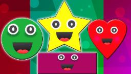 Forma Canção | Desenhos animados para crianças | vídeo educativo | video crianças | Shape Song