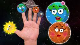 planeta dedo família | Cartoon para crianças | vídeo educativo | Planet Finger Family