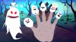 Дух палец Семейные | детского стишка | Nursery Rhyme | Kids Song | Ghost Finger Family