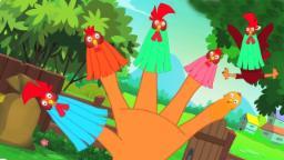 Петух палец семья | детский стишок | популярны обучающие мультфильмы | Rooster Finger Family