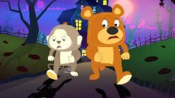 Хэллоуина Ночь | Страшно песня для детей | Хэллоуин песня | Призрак Песня | Halloween Night Song